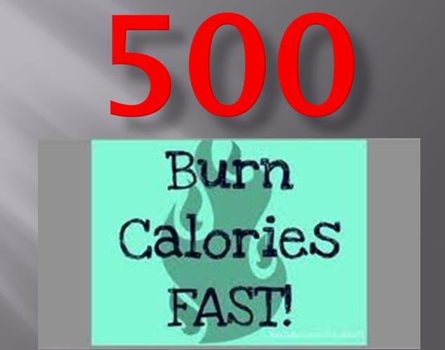 "500 Calories per hour…Burn off your Big Macs!"" and whatever"
