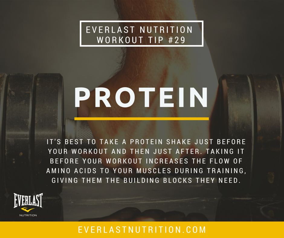 Everlast Nutrition Tip #29